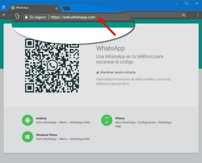 ver chat de whatsapp en whatsapp web